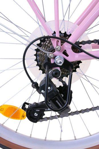 FASHION LINE Cityrad, Shimano TOURNEY TY 300 Schaltwerk, Kettenschaltung