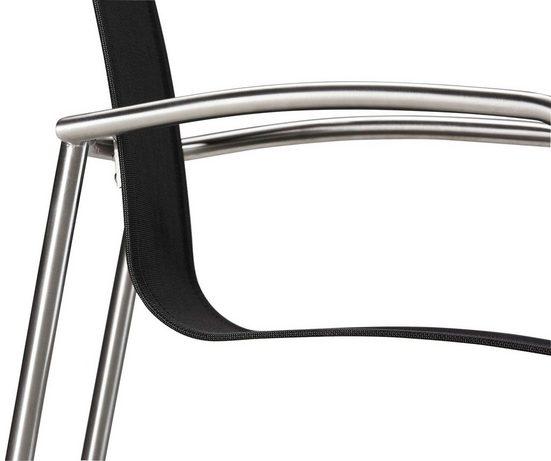 BEST Sessel »Khartum«  Aluminium  stapelbar