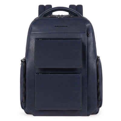Piquadro Laptoprucksack »Tallin«, Leder