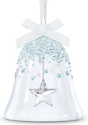 Swarovski Dekofigur »Weihnachtsglocke, Stern groß, 5545451« (1 Stück), Swarovski® Kristall