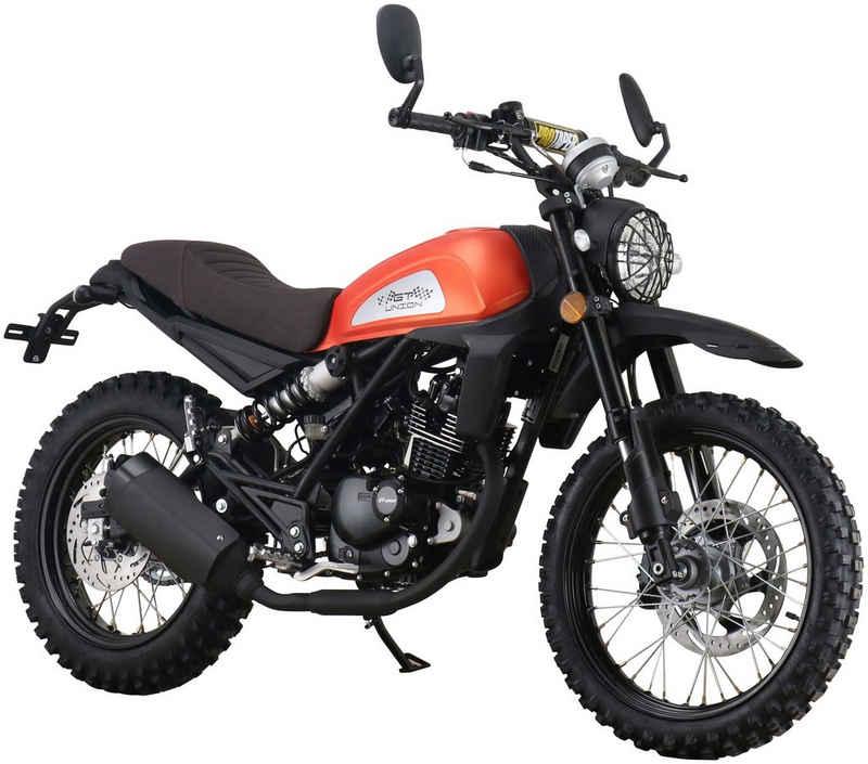 GT UNION Motorrad »Dakar 125«, 125 ccm, 95 km/h, Euro 5, orange