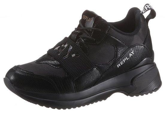 Replay Sneaker mit modischem Schmuckelement