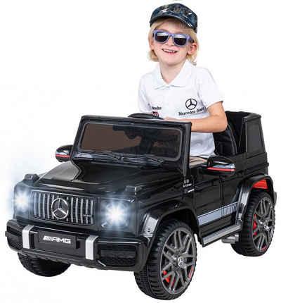 Actionbikes Motors Elektro-Kinderauto »Kinder Elektroauto Mercedes Benz AMG G63«, Belastbarkeit 35 kg, Ledersitz - inkl. Fernbedienung