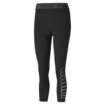 PUMA Leggings »Logo Elastic Damen Training 3/4 Tight«