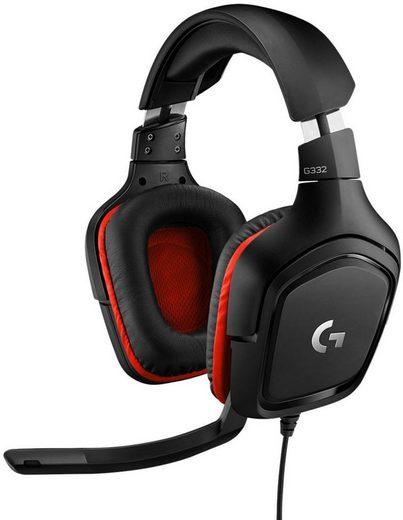 Logitech G »G332 - LEATHERETTE - EMEA« Gaming-Headset