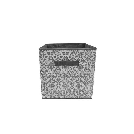 HTI-Line Aufbewahrungsbox »Aufbewahrungsbox Paloma mit Aufdruck« (1 Stück), Stoffbox