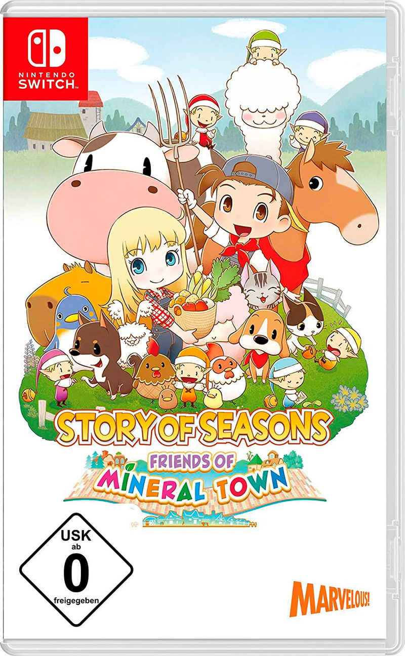 Story Of Seasons: Friends Of Mineral Town Nintendo Switch