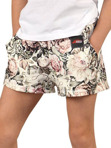 KMISSO Strandshorts »Mädchen Shorts Unifarben« (1-tlg)