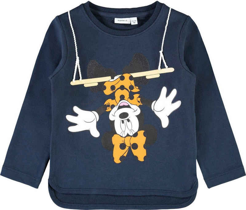 Name It Sweatshirt »NKFMINNIE« mit lustigem Druck