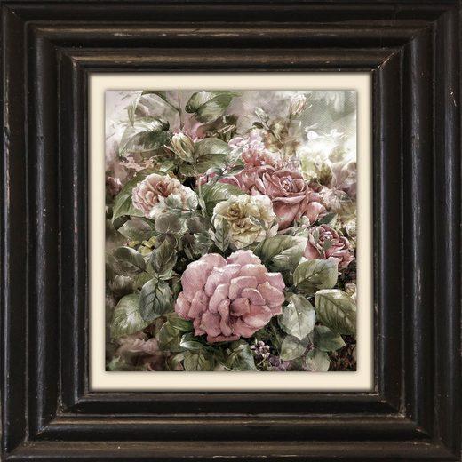 queence Leinwandbild »Blumen«