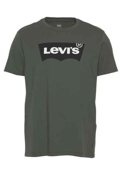 Levi's® Print-Shirt mit typischem Batwing-Logo