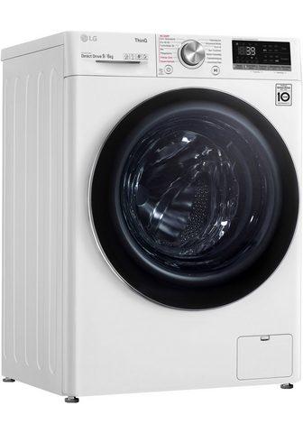 LG Skalbimo mašina-džiovyklė V7WD96H1A 9 ...