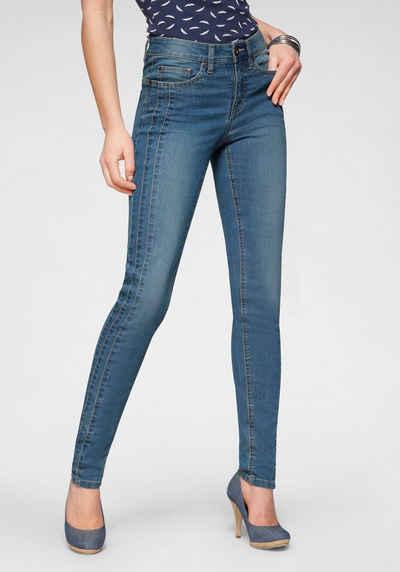 Arizona Slim-fit-Jeans Mit modischen Nahtverläufen - NEUE KOLLEKTION