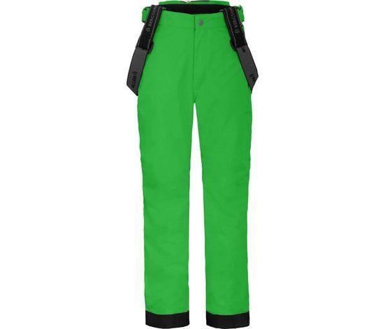 Bergson Skihose »LUCA« Kinder Skihose, wattiert, 12000 mm Wassersäule, Normalgrößen, grün