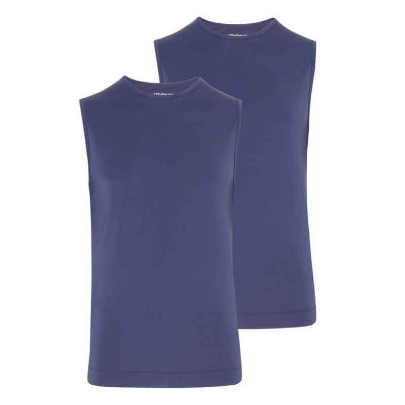Jockey Unterhemd »2er Pack Microfiber Air« (2 Stück), Athletic Shirt - Perfekte Passform, Schnelltrocknend, Pflegeleichtes Material