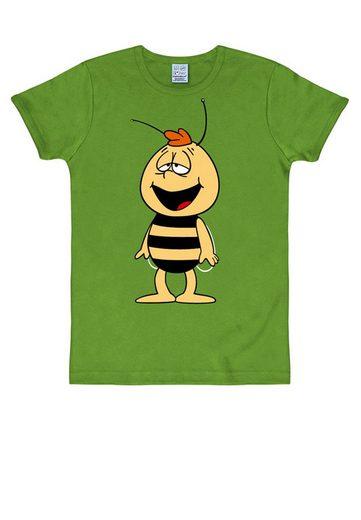 LOGOSHIRT T-Shirt mit niedlichem Print »Biene Maja«