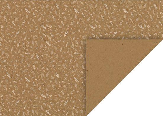 Heyda Motivpapier »Blätter«, 50 cm x 70 cm
