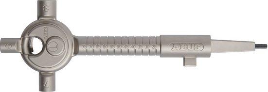 ABUS Bauschlüssel »Universal SB«, aus Metall mit Vierkant, Schließbart