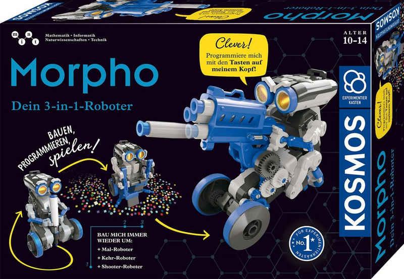 Kosmos Experimentierkasten »Morpho - Dein 3-in-1 Roboter«
