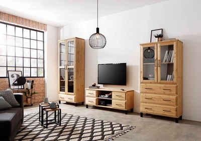 Home affaire Wohnzimmer-Set »Kemi«, (Set, 3-St), mit viel Ausdruck