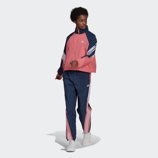 adidas Performance Trainingsanzug »ADIDAS SPORTSWEAR GAME-TIME WOVEN« (Set, 2-tlg)