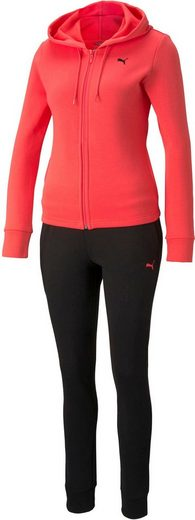 PUMA Jogginganzug »Classic Hooded Sweat Suit FL« (Set, 2-tlg)