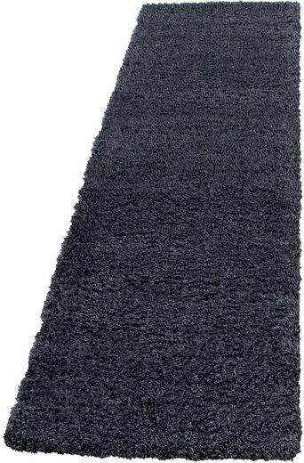 Hochflor-Läufer »Ancona 9000«, Ayyildiz, rechteckig, Höhe 50 mm, Besonders weich durch Microfaser, 80cm x 250cm (BxL)