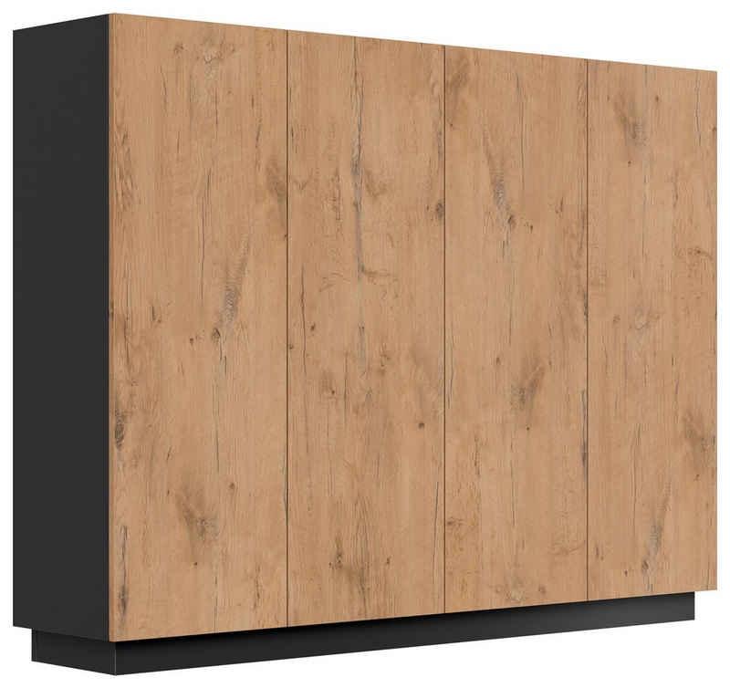Emotion Schuhkipper »Schuhschrank Alius-XL 4 Türen 36 Paar Oak«