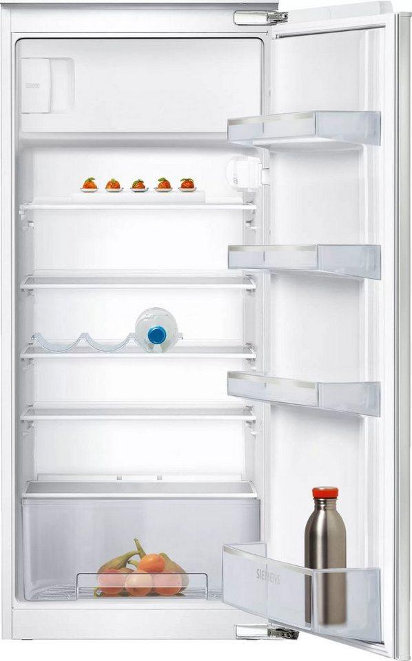 SIEMENS Einbaukühlschrank iQ100 KI24LNFF1, 122,1 cm hoch ...
