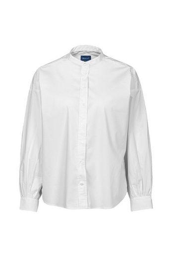 Gant Hemdbluse »Tp Oversized Band Collar Shirt«