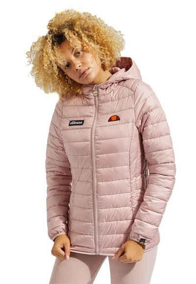 Ellesse Steppjacke »Ellesse Jacke Damen LOMPARD PADDED JACKET Rosa Light Pink«