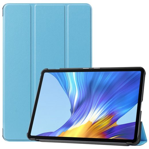 Wigento Tablet-Hülle »Für Huawei MatePad T10 / T10s 2020 Tablet Tasche 3 folt Wake UP Smart Cover Etuis«