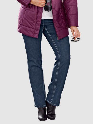 MIAMODA Jeans mit bequemem Dehnbund