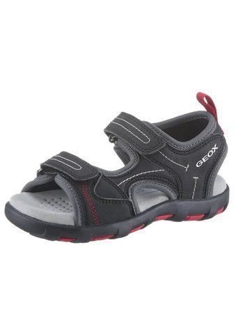 Geox Kids »Pianeta« sandalai su švelnus Lederinn...