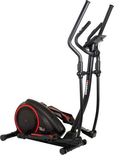 Hammer Crosstrainer »Crosstech XTR«, mit Computer und Smartphonehalterung, Fitness-Apps per Smarthphone/Tablet