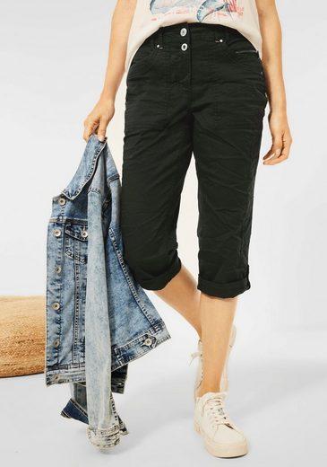 Cecil 3/4-Hose »Style New York« mit krempelbaren Hosenbeinen