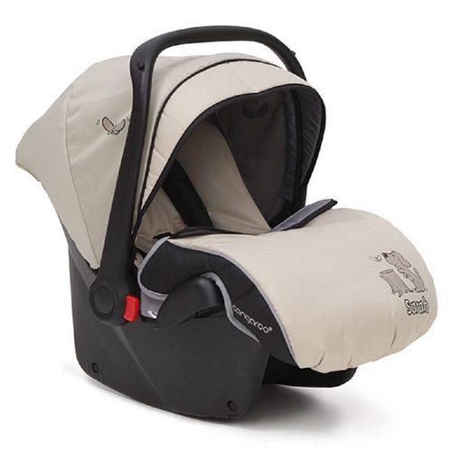 Moni Babyschale »Kindersitz, Babyschale Sarah Gruppe 0+«, 3 kg, (0 - 13 kg) mit Fußabdeckung