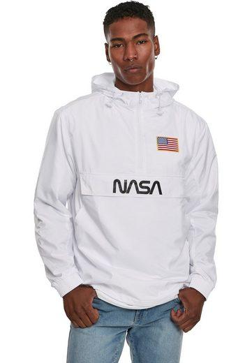 MisterTee Windbreaker »NASA Worm Logo Pull Over Jacket«