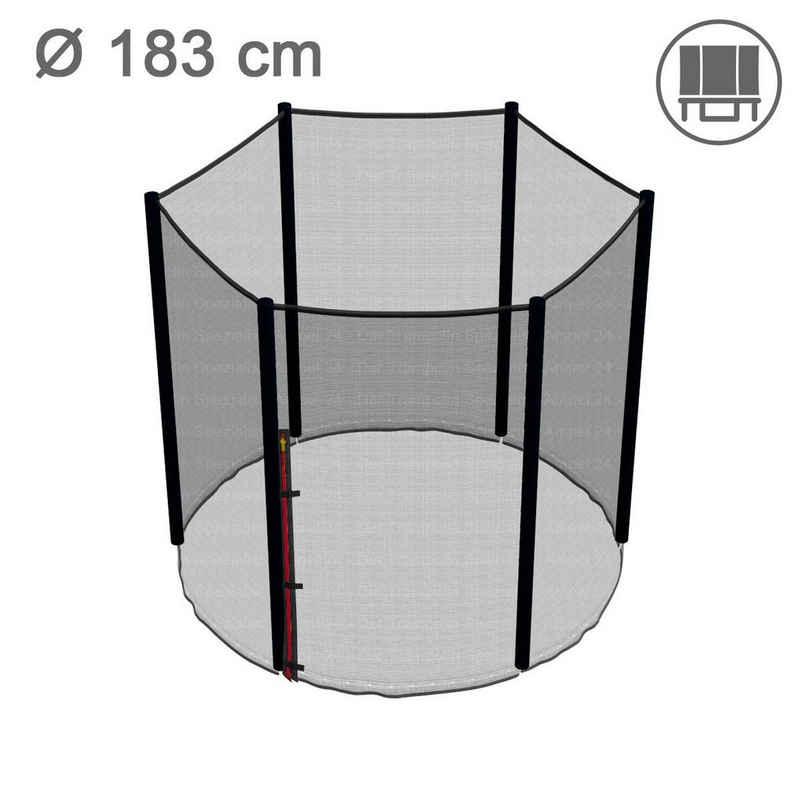 Ampel 24 Trampolinnetz »Klassik«, für 183 cm Gartentrampolin (6 Pfosten)