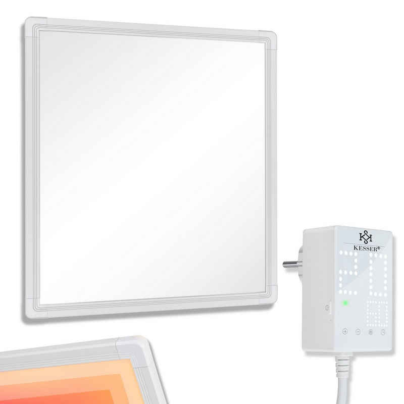 KESSER Infrarotwandheizung, Infrarotheizung Mit Thermostat Infrarot Wandheizung Elektroheizung Heizung Heizkörper Heizpaneel IP44