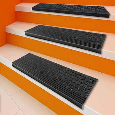 Stufenmatte »Diamond«, Kubus, rechteckig, aus Gummi