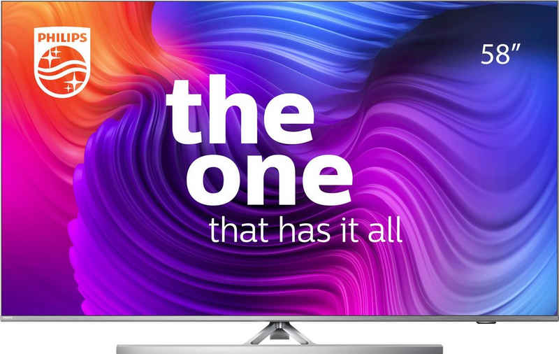 Philips 58PUS8506/12 LED-Fernseher (146 cm/58 Zoll, 4K Ultra HD, Smart-TV)