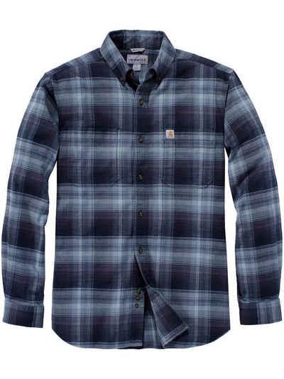 Carhartt Langarmhemd »Carhartt Langarmhemd navy« US Kleidergrößen