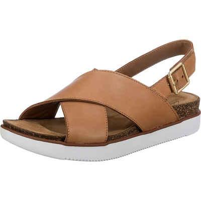 Clarks »Elayne Cross Klassische Sandalen« Sandale