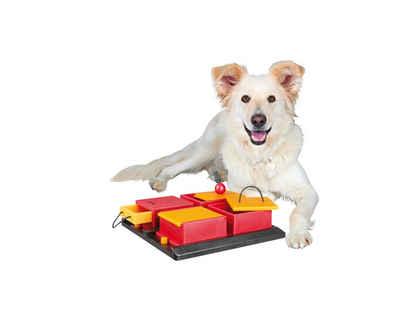 TRIXIE Tier-Intelligenzspielzeug »Poker Box«, Kunststoff