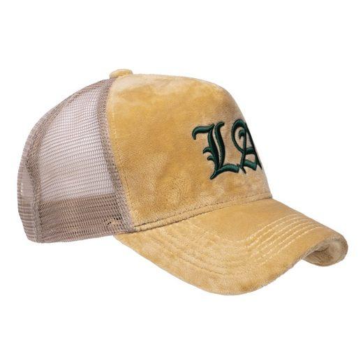 Chiccheria Brand Baseball Cap »VELVET-LA« Designed in LA, samt