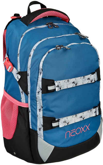 neoxx Schulrucksack »Active, Splash«, aus recycelten PET Flaschen