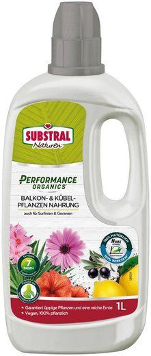 Scotts Substral Pflanzendünger »Naturen Performance Organics Balkon- & Kübelpflanzen Nahrung«, 1 l