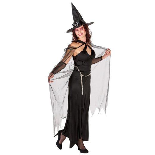 dressforfun Hexen-Kostüm »Frauenkostüm Königin der Finsternis«