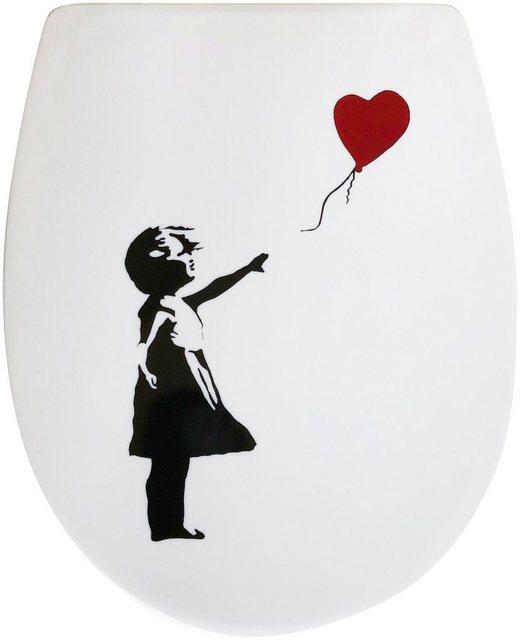 WCs und Zubehör - ADOB WC Sitz »Roter Ballon«, Absenkautomatik, abnehmbar  - Onlineshop OTTO